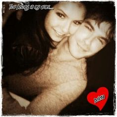 """Ian and Nina """"But first let me take a selfie"""""""