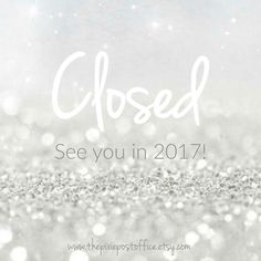 The Pixie Post Office is now closed until the new year. A huge thank you to TPPO's customers and friends. It's been a fantastic year and I've loved the journey one highlight in particular was joining #teamsparkle & becoming part of the @SparkleShowcases family <3  Have a wonderful Christmas break looking forward to hearing all about your festive shenanigans in the new year!  Jingle and out... #christmas #christmasholidays #closed #handmade #supportsmallbusiness #craftsposure #newyear…