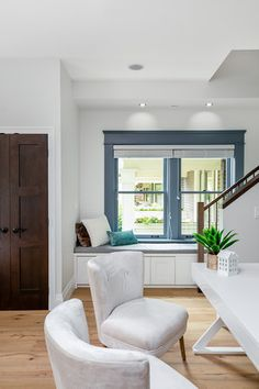 Living area designed by Madeleine Design Group in Vancouver's West End neighbourhood. *Re-pin to your inspiration board*
