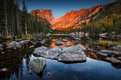 """Dream Lake - You may like to follow my photography on Facebook: <a href=""""https://www.facebook.com/SvenMuellerLandscapePhotography"""">S V E N . M Ü L L E R . L A N D S C A P E . P H O T O G R A P H Y</a>  <a href=""""http://www.svenmueller.net"""">Copyright © 2016 Sven Müller. All rights reserved.</a>"""