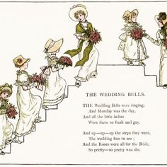The Wedding Bells by Kate Greenaway