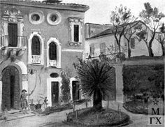 Villa in Sorrento, 1929, rented by Maxim Gorky up to   1932.