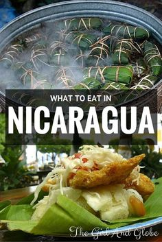 Foodies! Check out this guide on what to eat in Nicaragua.  Nicaraguan cuisine and Nicaraguan food includes delicious specialties (not just rice and beans!).  Next time you travel to Nicaragua, be sure to try all of these.