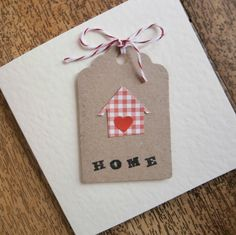 New Home card by onelittlepug on Etsy                                                                                                                                                     More