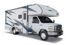 Rv Show, Solar Panel Battery, Class C Motorhomes, Class C Rv, Small Rv, Buying An Rv, Gasoline Engine, Automatic Transmission, Camper Van