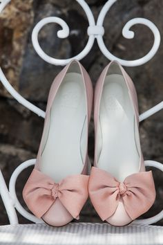 811f4bd794d4 Heelow ballerinas on vacation in Italy! Estelle nude pink, the perfect flat  wedding shoe