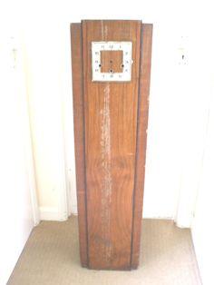 Haller German Art Deco Oak Case Westminster Chimes Grandmother Clock 48 H