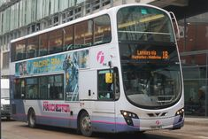Fleet No: 39219 Reg Plate: MWX Vehicle: Wright Eclipse Gemini / Volvo Route: 18 Langley via Middleton Location: Shudehill Interchange, Manchester Garage: Manchester First Bus, Buses And Trains, Busses, Coaches, Volvo, Manchester, Britain, Transportation, Films