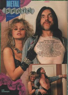 lisa dominique and lemmy