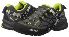 Salewa Unisex Wildfire Pro Approach Shoe | Hiking, Climbing, Training | Vibram Sole, Climbing Lacing, Suede Upper | Excellent Climbing Performance >>> See this great product. (This is an affiliate link) #HikingShoes