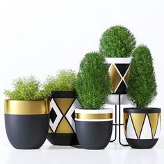 designtwins pot two model max obj fbx mat 1 diy garden flower Paint Garden Pots, Painted Plant Pots, Painted Flower Pots, Garden Painting, Decorated Flower Pots, Diy Painting, Flower Pot Design, Flower Pot Art, 3d Modelle