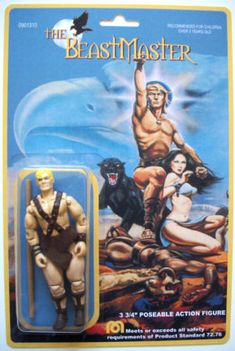Custom Beastmaster action figure