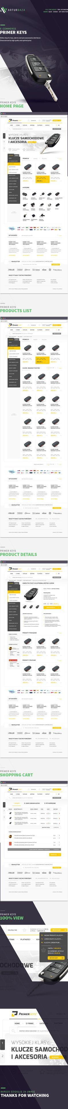 Primer Keys e-commerce