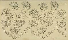 Needlework pattern. Ackermann Aug 1822