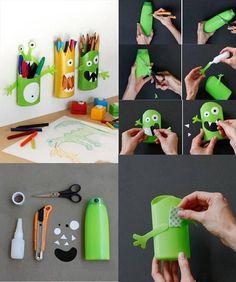 leuke en goedkope zelfmaakideetjes om met de kinderen te doen - Zelfmaak ideetjes