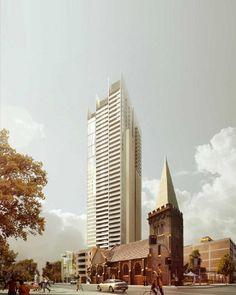 Proposed Parramatta Riverside Tower (152m)