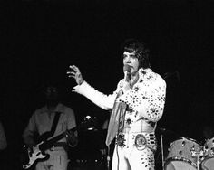 Elvis Presley, 1972, Olympia Stadium, Detroit, Michigan