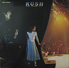 Exit…Stage Left is a live album by Canadian band Rush, released in 1981  #music #vinyls #rush