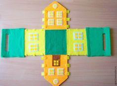 Eu Amo Artesanato: Bolsinha de casinha com molde