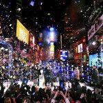 Un millón de personas festeja año nuevo en Times Square de Nueva York