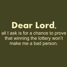 i will be good, i promise.