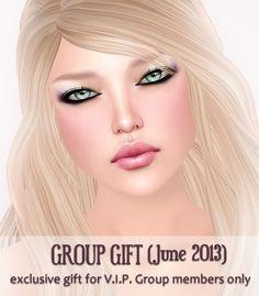 V.I.P. Group Gift June 2013 by Izzie Button, via Flickr