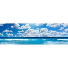 Sea Breeze Panoramic Self Adhesive Window Decal