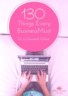 130 Things Every Business Must Do To Succeed Online £9.99 The Ultimate Online Checklist Pack What does it take to really succeed online? Do you even know what your business should have in place to attract your ideal clients and start making you bank? We have created this bumper pack of amazing accelerator checklist which makes it super simple to get all your biz building need on point and finally be crushing it online. All the checklist's you need to succeed online in one super awesome pack!