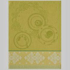 Douceurs Lemon Tea Towel, $24, from Le Jacquard Francais