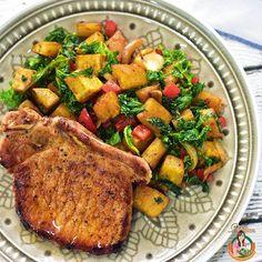 Pork Chop on Sweet Potatoes & Kale Hash  #whole30 #paleo #homemade #homecooked #homemadefood #homecookedmeals #homecooking #onthetable #bkosfood @bkosfood #8dayseat #sgfood #foodiesg  #foodsharing #foodgasam #foodporn #f52grams #foodspotting #delishar #sgblogger #recipe #igsg #sgeats #instafood #instagood #openrice #feedfeed @thefeedfeed #whati8today #sginfluencer #foodsharing #eatclean