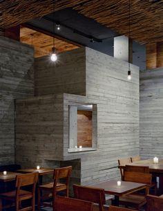 Pio Pio Restaurant by Sebastian Marsical Studio Minimalist Wall Design