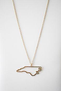 north carolina necklace – gallery. boutique