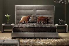 Sayonara Leather Platform Bed by Gamma International