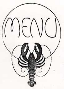 lobster letterpess inspiration