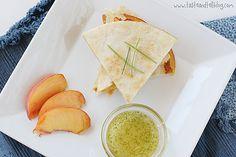 Peach-and-Brie-Quesadilla