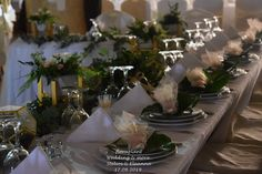 Elegant Golden Details Wedding Decor with Flowers by Floraplant. Wedding Decorations, Table Decorations, Facebook Sign Up, Table Settings, Detail, Elegant, Flowers, Classy, Wedding Decor