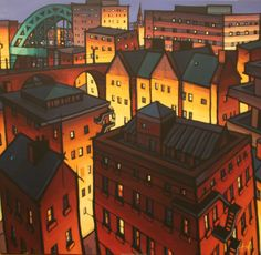 View Jim Edwards's Artwork on Saatchi Art. Find art for sale at great prices from artists including Paintings, Photography, Sculpture, and Prints by Top Emerging Artists like Jim Edwards. Unique Buildings, City Buildings, Cityscape Art, Professional Painters, Building Art, Happy House, Ap Art, Landscape Paintings, Landscapes