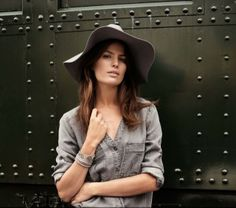 Cameron Russell is 'Western Chic' for H