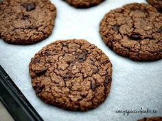 Amy's piece of cake: Chokladkakor - Double Chocolate Chip Cookies