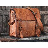 Hlc Genuine Men's Auth Real Leather Messenger Laptop Briefcase Satchel Leather Laptop Messenger Mens Bag: 13 inch leather messenger bag , genuine leather laptop bag hand made leather bag Brown Leather Messenger Bag, Leather Briefcase, Laptop Briefcase, Messenger Bags, Leather Satchel, Leather Laptop Bag, Duffle Bags, Laptop Bags, Satchel Bag