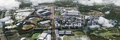 Sydney Olympic park 30 Year Future Vision -3d model and CGIs by Buildmedia