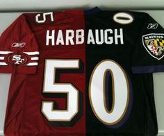 2013 Super Bowl between the San Francisco 49'ers, the Baltimore Ravens and the Harbaugh Brothers.  May the best team win!