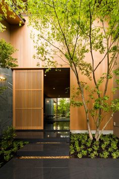 Amazing Timber Cladding Ideas to Spike up Your Building Design Architecture Design, Residential Architecture, Modern Japanese Architecture, Wooden Architecture, Architecture Interiors, Design Exterior, Interior And Exterior, Modern Interior, Japanese Interior Design