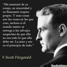 F.Scott Fitzgerald. why is this so good in Spanish.