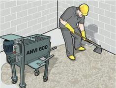 Misturador de argamassa Anvi 600 Ideal para contra piso. (11)2359-0933