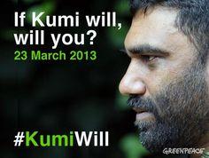 If Kumi will...will you? | Greenpeace International