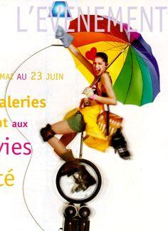 Jean Paul Goude & Laetitia Casta for Galleries Lafayette