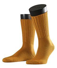 FALKE Herren Socken Nelson, Gr. 39/42, Gelb (Golden Oak 1270)