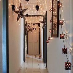 Decorar el pasillo con luces navideñas - #AdornosNavideños, #DecoracionNavideña, #Navidad http://navidad.es/13065/decorar-el-pasillo-con-luces-navidenas/