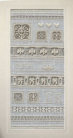 Drawn Thread Sampler Instructions for Sale Tambour Embroidery, Hardanger Embroidery, Types Of Embroidery, Embroidery Patterns, Hand Embroidery, Drawn Thread, Thread Work, Back Stitch, Cross Stitch